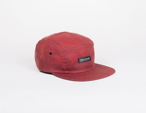 Red 5 Panel Hat